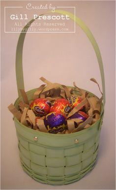Stampin' Up! - Easter basket