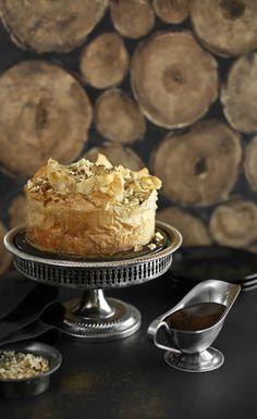 Sprinkle Bakes: Baklava Cheesecake