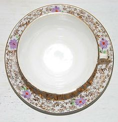 Bone China Tea Cup & Saucer from England - GOLD