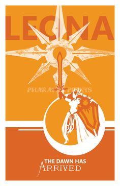 Leona: League of Legends Print. $14.00, via Etsy.