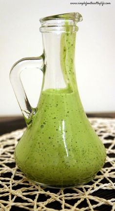 Cilantro Lime Dressing...perfect on tacos or a mexican salad!