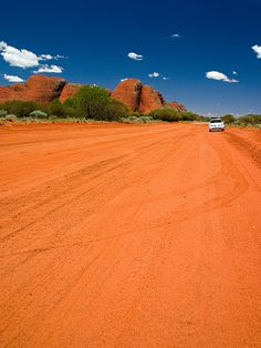 Red Dirt Road in the Australian Outback