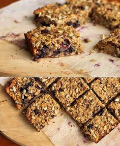 Blueberry Banana Breakfast Bars