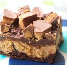 Reeses cheesecake brownies. Looks good!
