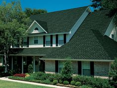 Hunter Green #gaf #timberline #roof #shingles #home