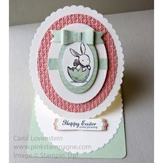 Everybunny Easter Easel Card
