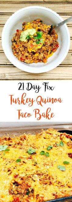 21 Day Fix Turkey Qu
