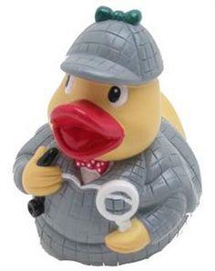 Sherlock Holmes Rubber Duck