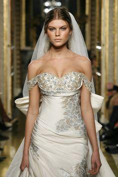 wedding dresses by Zoher morad- 2007 Lebanese designer