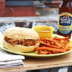 Crockpot BBQ Beer Shredded Chicken... a new summer staple!