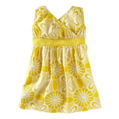 Tea Spring 2013 Sea Urchin Wrap-Neck Dress in lemon - $35