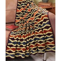 Free Pattern - Reading Ripple Afghan and tutorial video