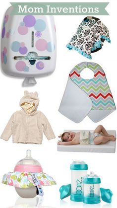 Baby Products Invented by Mom