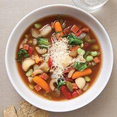 Six healthy soups
