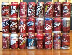 And this plethora of Dr Peppers without doctorates. | 30 Knockoff Products That Are Almost Better Than The Real Thing