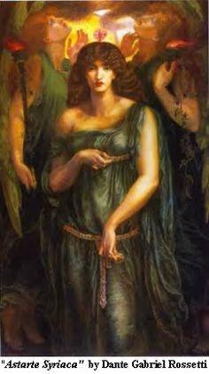 Hebrew Goddess; Asherah, the Shekinah, consort of Yahweh