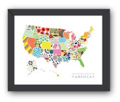 swatch USA illustration - etsy shop: jpressdesigns
