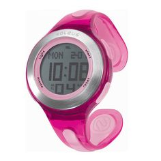 You run like a girl. Keep it up. Soleus Swift Watch. $55 #Soleus #Fitness #Watch #Pink