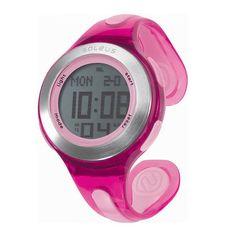 You run like a girl. Keep it up. Soleus Swift Watch. $55 #Soleus #Fitness #Watch #Pink