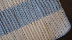 Quick crochet blanket