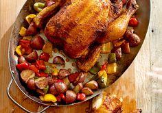 Grill Roasted Chicken recipe | Cool Mom Picks