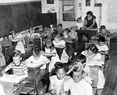 Omaha schools were not the only ones bursting at the seams due to increased enrollments as school started in September 1957. Crescent 7, a one-room schoolhouse on Lime Kiln Road north of Council Bluffs, had a similar situation with 35 children enrolled. The school normally had 15 to 20 pupils. THE WORLD-HERALD
