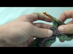 How To Crochet the Crocodile Stitch - YouTube