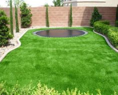 an in-ground trampoline is wayyyyy cooler than an in-ground pool. and less maintenance!