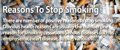 Stop smoking today!