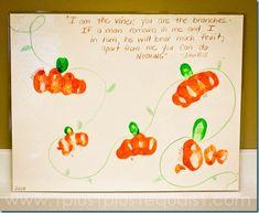 Family Pumpkin Patch Craft