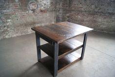 Kitchen Island / Rustic Kitchen Island / by FurnitureFarm on Etsy