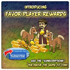 "LIKE and REPIN if you believe in JESUS!  Get Your *Favor Player* Bonuses and Unique Gifts!  Receive exclusive items that are available ONLY if you are a *Favor Player*! Click on the ""Subscribe"" button at the top of your game screen to get more information! Subscribe Today!"
