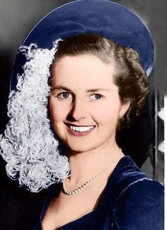 Young Margaret Thatcher