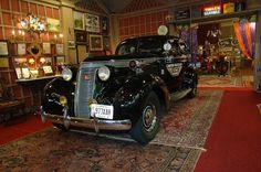 "Canton Police Car at the Canton Classic Car Museum - this is from the era when Canton was known as ""Little Chicago."""