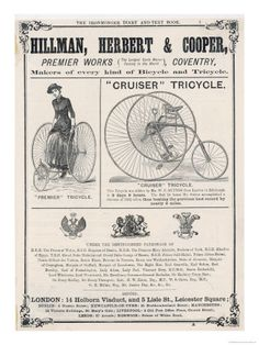Vintage Bicycle Posters | Bicycle Vintage Posters
