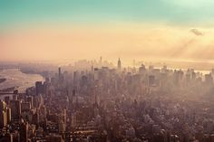 Atmoshphere... - New York City Haze  by *illpadrino on DeviantART