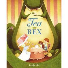 Tea Rex tearex, molli idl, dinosaur, teas, picture books, tea rex, children book, kid, parti