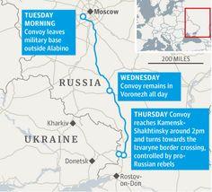 Map of Russian convoy to Ukraine http://gu.com/p/4vmqx/tw via @guardianworld