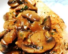 Chicken and Mushrooms Recipe | The Daily Meal