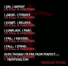 Trent Shelton, Rehab time