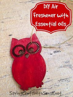 #DIY Air Freshener with Essential Oils
