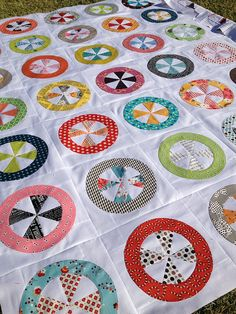 Prairie Sweets quilt by Michelle @ i like orange., via Flickr