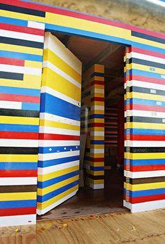 James May Life Size Lego House