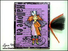 This new image from Stampendous is one of my favorite Halloween images ever!