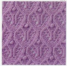 Lace Knitting Stitch #56