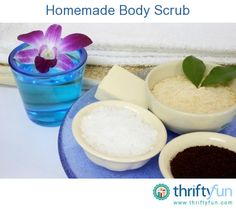 This guide is about homemade body scrubs. Outstanding exfoliates don't have to be expensive when formulated at home.