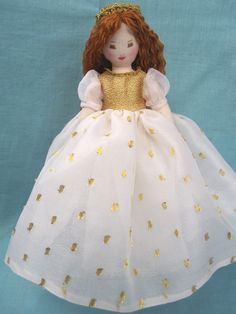 "Mimi, An Edith Flack Ackley Pattern Doll, Only 9"". $49.00, via Etsy."