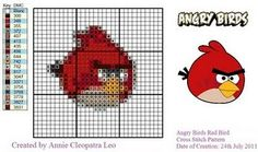 Heres the pattern! Angry birds!