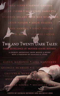 Best Anthology Nominee - Two and Twenty Dark Tales - Cover by Heather Howland