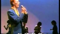 "LOVE. David Bowie performs ""Fame"" on Soul Train, via YouTube."